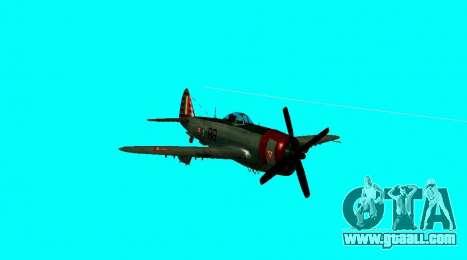 P-47 Thunderbolt for GTA San Andreas right view