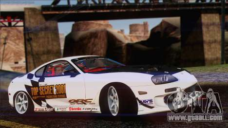 Toyota Supra 1998 Top Secret for GTA San Andreas