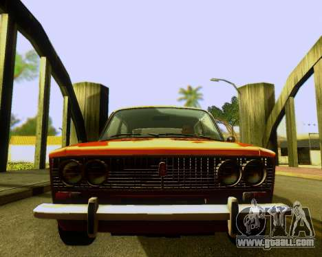 VAZ 2103 Tuneable for GTA San Andreas inner view