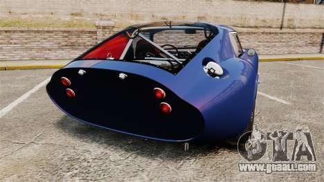 Shelby Cobra Daytona Coupe for GTA 4 back left view
