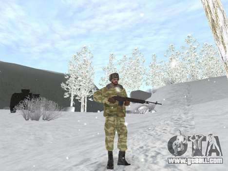 Pak Russian army service for GTA San Andreas eighth screenshot