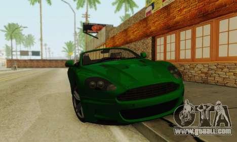 Aston Martin DBS Volante for GTA San Andreas left view