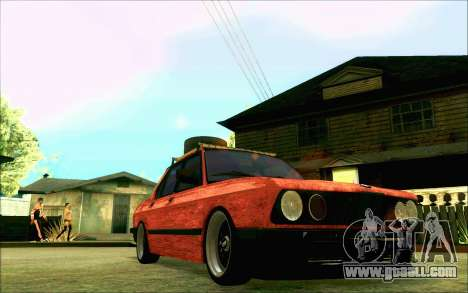 BMW M5 E28 RatStyle for GTA San Andreas inner view