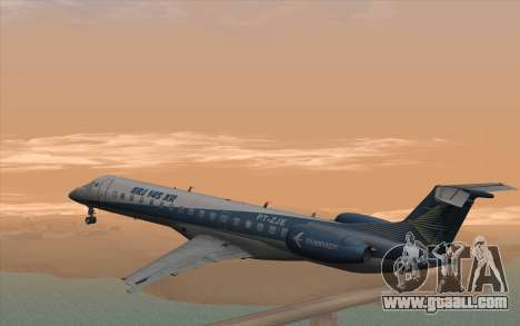 Embraer 145 Xp for GTA San Andreas left view