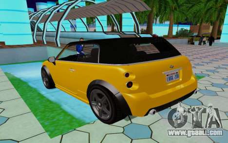 GTA 5 Weeny Issi V1.0 for GTA San Andreas back left view