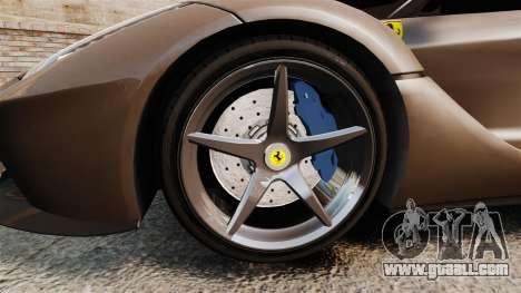 Ferrari LaFerrari v2.0 for GTA 4 back view