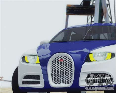 Bugatti Galibier 16c Final for GTA San Andreas right view