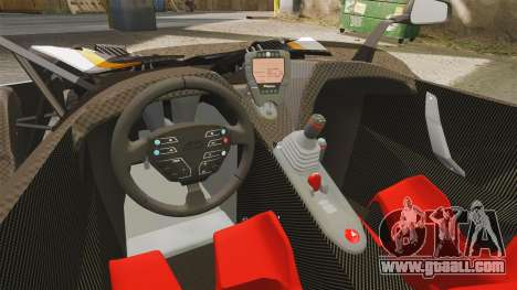 KTM X-Bow R [FINAL] for GTA 4 inner view