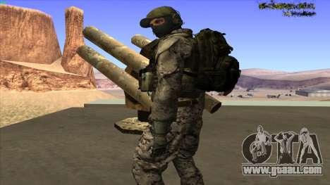 U.S. Navy Seal for GTA San Andreas seventh screenshot