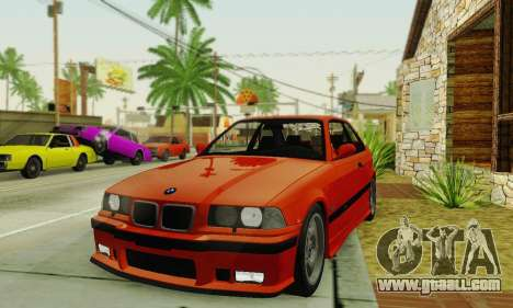 BMW E36 M3 1997 Stock for GTA San Andreas right view