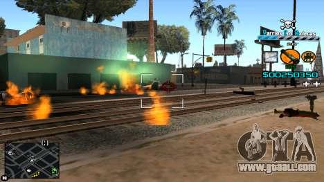 C-HUD RJ Aztecaz for GTA San Andreas forth screenshot