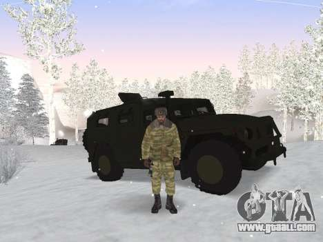 Pak Russian army service for GTA San Andreas third screenshot