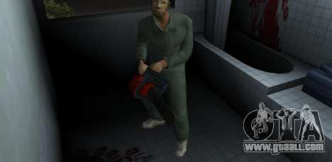 Chainsaw Taiga for GTA Vice City second screenshot