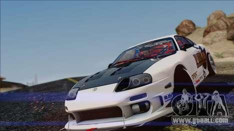 Toyota Supra 1998 Top Secret for GTA San Andreas left view