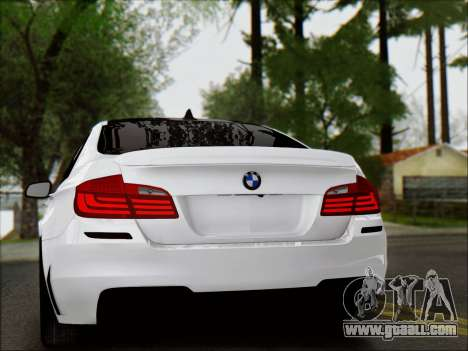 BMW 550 F10 VOSSEN for GTA San Andreas side view