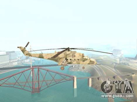 Mi-35M for GTA San Andreas left view