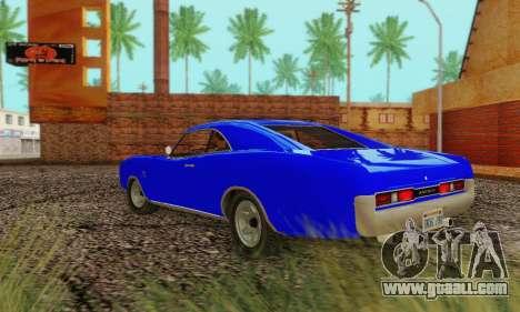 GTA 4 Imponte Dukes V1.0 for GTA San Andreas right view