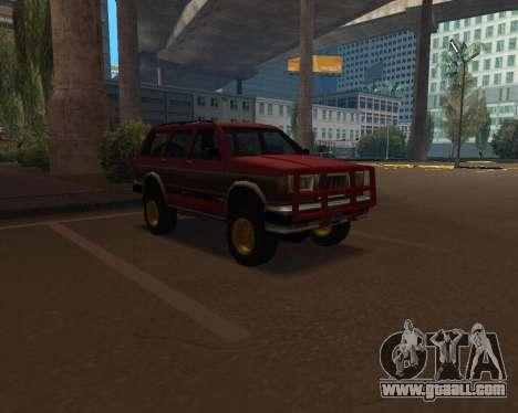 Landstalker V2 for GTA San Andreas
