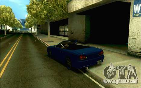 Elegy Tokyo Convertible for GTA San Andreas right view