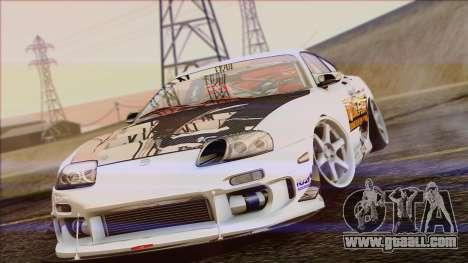 Toyota Supra 1998 Top Secret for GTA San Andreas right view