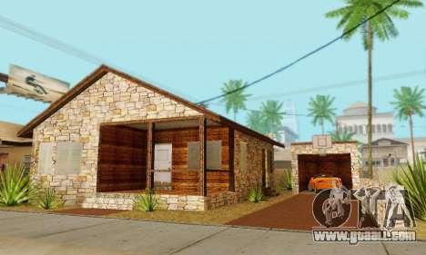 New house big Smoke for GTA San Andreas seventh screenshot
