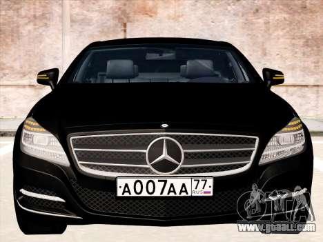 Mercedes-Benz CLS350 2012 for GTA San Andreas left view