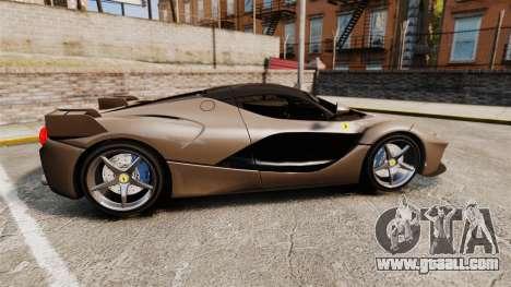Ferrari LaFerrari v2.0 for GTA 4 left view