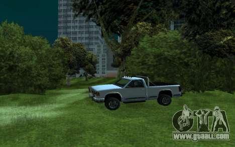 Yosemite Hunter for GTA San Andreas left view