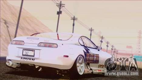 Toyota Supra 1998 Top Secret for GTA San Andreas interior
