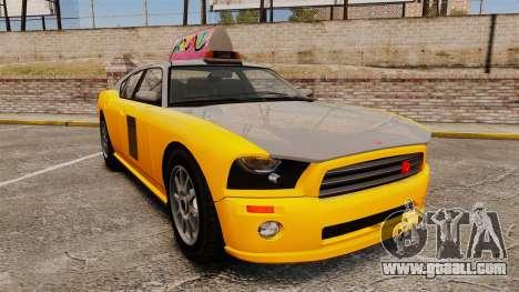 Bravado Buffalo Taxi for GTA 4