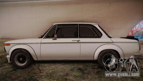 BMW 2002 1973 for GTA San Andreas left view