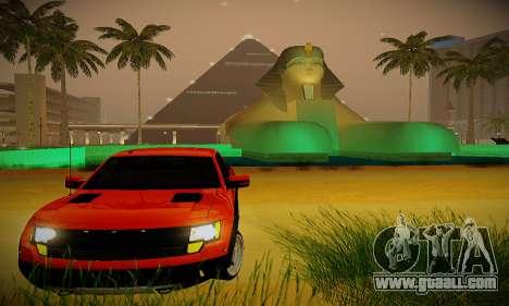 ENBSeries for weak PC for GTA San Andreas second screenshot
