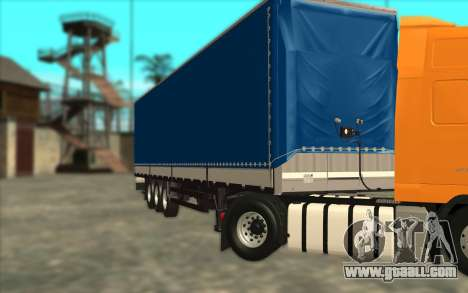 Trailer KRONE for GTA San Andreas left view