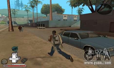 Beautiful C-HUD for GTA San Andreas