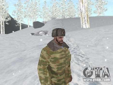 Pak Russian army service for GTA San Andreas seventh screenshot