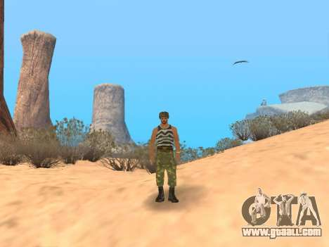 Pak Russian army service for GTA San Andreas ninth screenshot