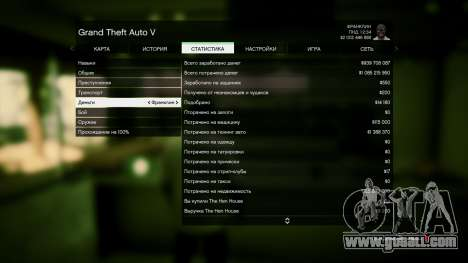 GTA 5 Save GTA 5 100% and 1 billion Xbox 360 fourth screenshot