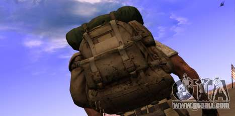 Рюкзак из MОH Warfighter for GTA San Andreas second screenshot