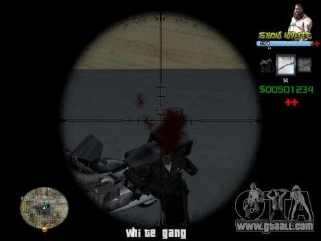 C-HUD Snow White for GTA San Andreas second screenshot