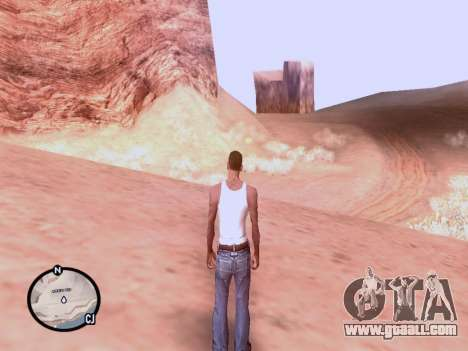 The new map in HD for GTA San Andreas third screenshot