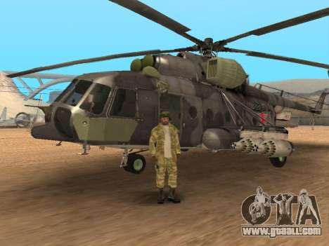 Pak Russian army service for GTA San Andreas eleventh screenshot