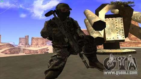 U.S. Navy Seal for GTA San Andreas eighth screenshot