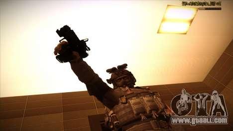 Sgt Keegan P.Russ из Call Of Duty: Ghosts for GTA San Andreas tenth screenshot