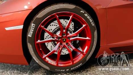 Lamborghini Aventador LP 700-4 Roadster [EPM] for GTA 4 back view