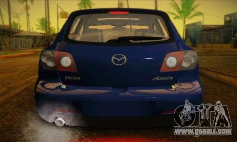 Mazda Axela Sport 2005 for GTA San Andreas side view