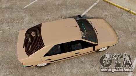 Citroen Xantia for GTA 4 right view