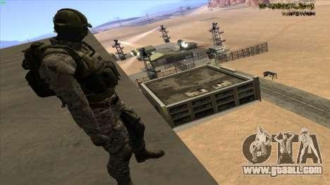 U.S. Navy Seal for GTA San Andreas third screenshot