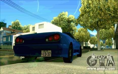Elegy Tokyo Convertible for GTA San Andreas left view