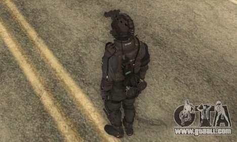 Custom из CoD:Ghost for GTA San Andreas third screenshot