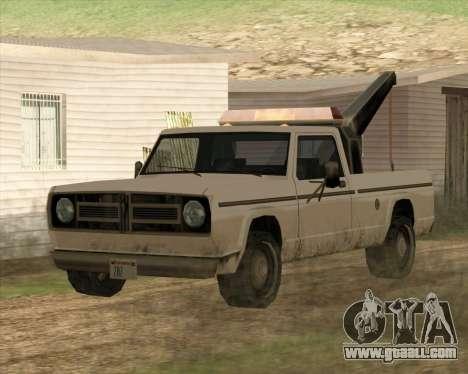 New Tow (Sadler) for GTA San Andreas